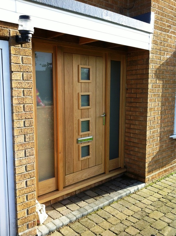 New Front Door Acorn Joinery